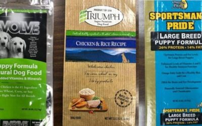 Dog food recalled due to potentially elevated levels of Vitamin D
